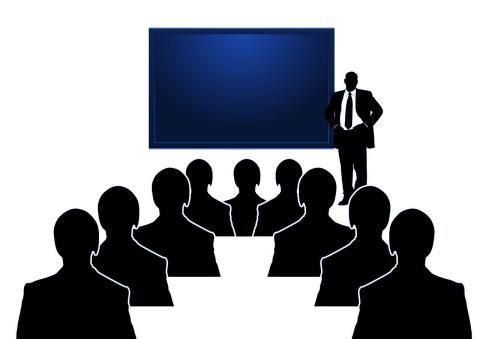 Präsentationstechnik, besser präsentieren, Präsentation
